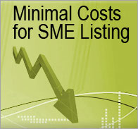 Minimal Cost for SME Listing